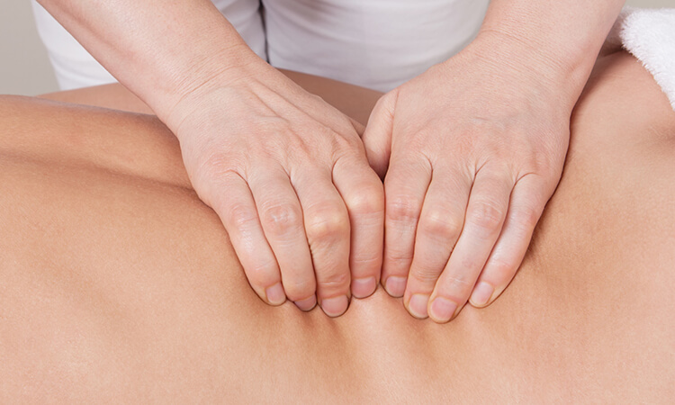 Classical massage removes blockages